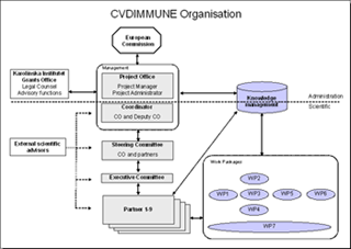Organisation of CVDImmune
